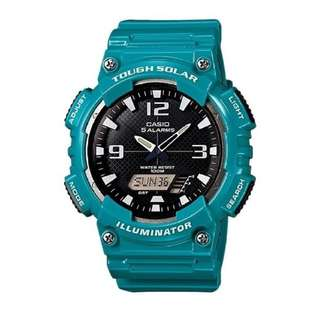 Casio Tough Solar Powered AQ-S810WC-3AV Green Watch