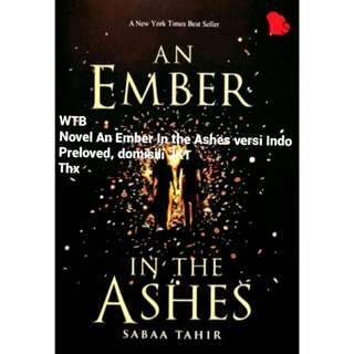 WTB AN EMBER IN THE ASHES