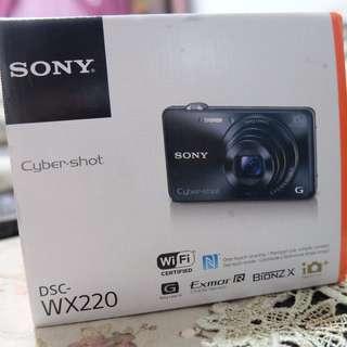 Sony camera DSC-WX220