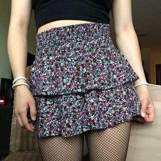 h&m floral skirt 💐
