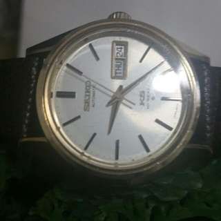 Seiko King Gold Top Very Rare Verg Good Condition