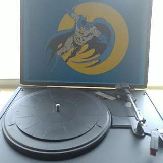 Batman Record Player