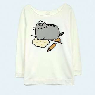 Pusheen 3/4 Sleeve Sweater