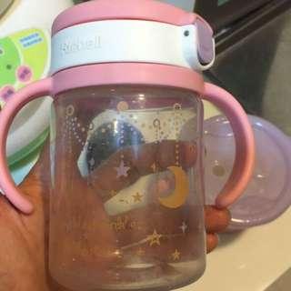 Richell 日本利其爾水壺 學習水壺