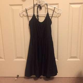 Black Haulter Dress