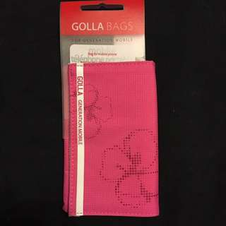 Pink Phone And Card Holder