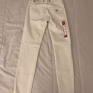 White Guess Jeans