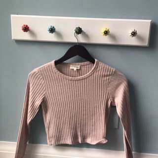 Aritzia Long Sleeve Crop