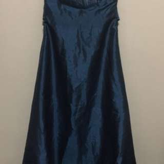 Tube Long Gown W/ Tie Back
