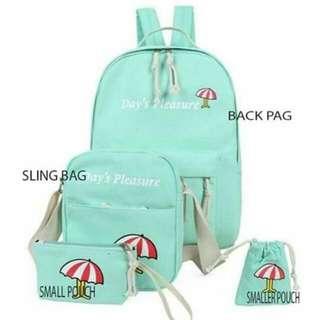 Back Pack 4 in 1