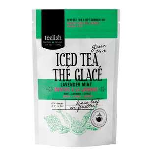 Tealish Lavender Mint Green Iced Tea