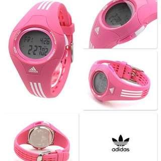 Brand New, Genuine Adidas Sports Performance Digital Pink Watch