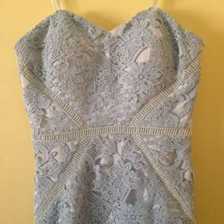 PRICE REDUCED!! Bariano Lace Formal Dress