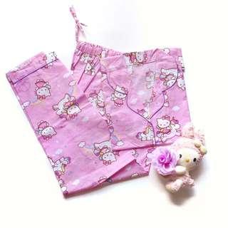 Piyama Hello Kitty Celana Panjang