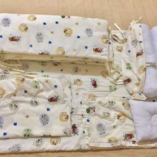 Wooden Crib Fitted Sheets Set