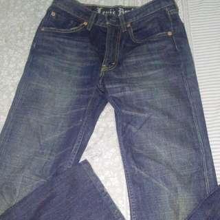 Levi's 505 Blue Jeans Wash Denim