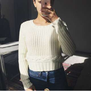 HURLEY crop Jumper