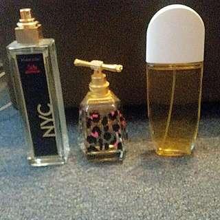 3x fragrances