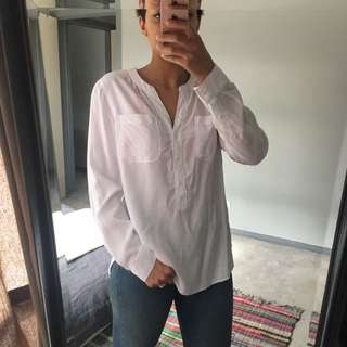 Just Jeans White Shirt