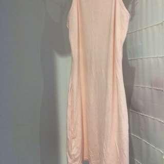 5 For $10 Boohoo Light Pink Dress