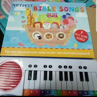 Repriced!! Piano Book With Christian Songs