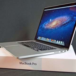 MacBook Pro 15 Inch Retina Display