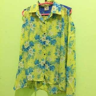 Baju Tropical Print