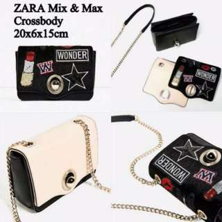 Tas ZARA Original Crossbody Bag Cross Body Bag