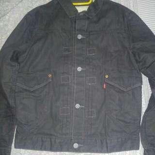 Levi's Grey Denim Jacket