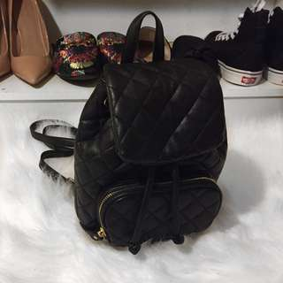 Chanel Inspired Backpack