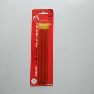 Swiss Caran d'Ache White Chalk pencils