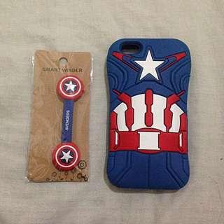 Iphone 5 Case Captain America