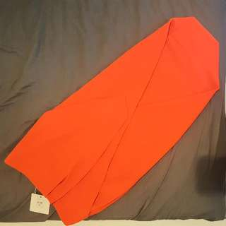 Orange Mia Skirt