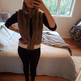 Faux-Fur Vest (8-12)
