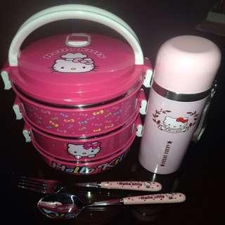 Hello Kitty Lunch Box Set