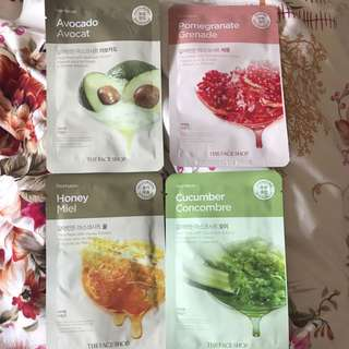 Real Nature Face Masks The Face Shop