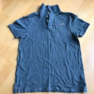 深色hollister Polo Shirt