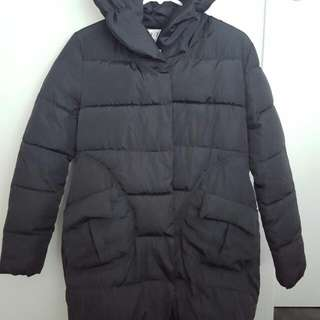 Black Puffer Jacket Size M / 8
