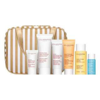 CLARINS Skin Beauty Splendours 7 Wonders Gift Set. GIFT-WRAP AVAILABLE