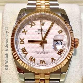 Rolex Men Datejust Watch