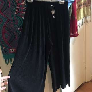GLASSONS FLARE/BAGGY HIGHWAISTED PANTS