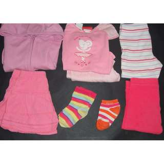 Cotton On, Target Girls Mixed Clothing Lot Size 0