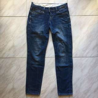 Levi Low Rise Denim Jeans