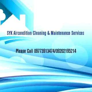 SYK AIRCON CLEANING AND MAINTENANCE SERVICES