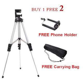 Free Postage SALE Tripod + Holder + Carrying Bag
