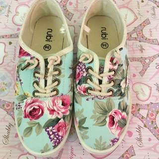 Rubi flower shoes