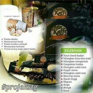 Min Kaffe & Garlic Tablet