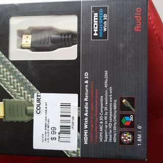 HDMI With Audio Return&3D