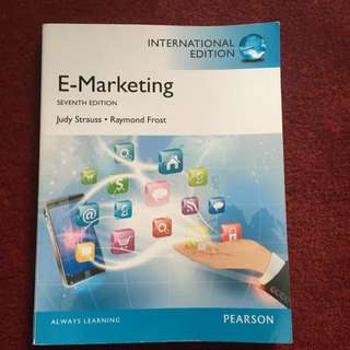 E-marketing International Edition 7th Edition