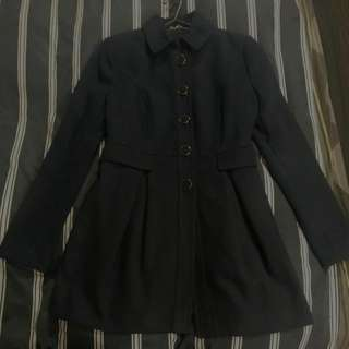 🔥Price reduced-Forever New Navy Coat - Size 6